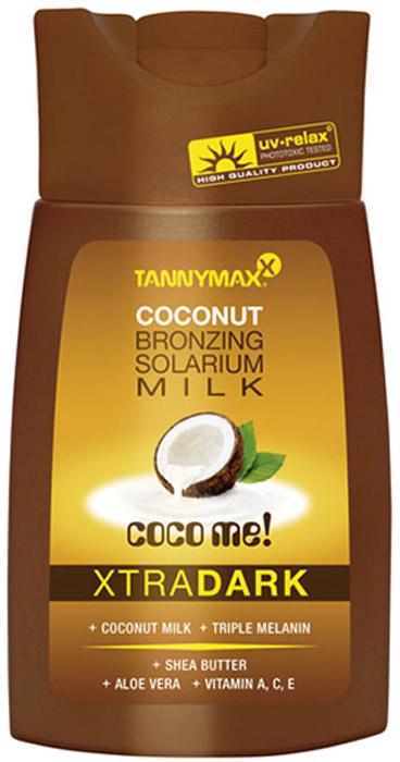 Tannymaxx Молочко-ускоритель для загара Classic Dark Coconut Milk, с усиленным бронзатором тройного действия, 200 мл