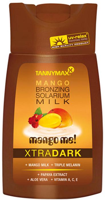 Tannymaxx Молочко-ускоритель для загара Classic Dark Mango Milk, с усиленным бронзатором тройного действия, 200 мл