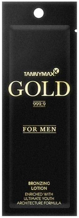 Tannymaxx Крем-ускоритель для загара мужской Gold 999,9 For Men Bronzer, с усиленными бронзаторами и инновационным комплексом активных веществ Ultimate Youth Architect Formula, 13 мл цена