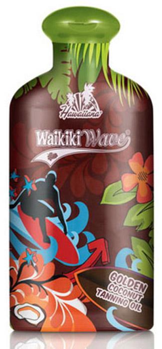 Hawaiiana Масло-ускоритель для загара Waikiki Wave Golden Coconut Dark Tanning Oil, с витаминным комплексом, 200 мл цена