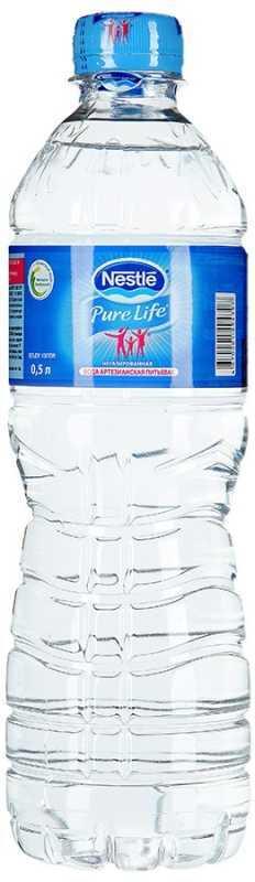 Nestle Pure Life вода негазированная, 0,5 л nestle 900
