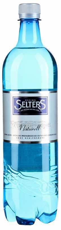 Selters вода минеральная негазированная, 1 л вода минеральная стэлмас 0 6 л газ пэт