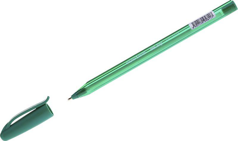 Paper Mate Ручка шариковая InkJoy 100 цвет чернил зеленый cello ручка шариковая gripper цвет чернил зеленый