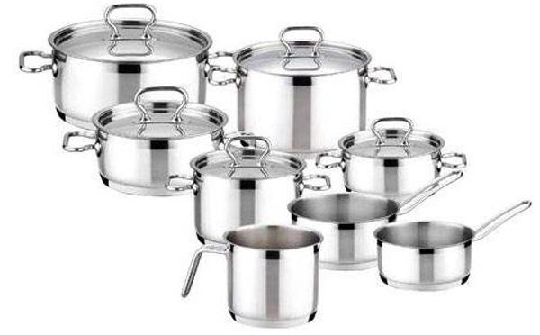 Набор посуды Tescoma Home Profi, 13 предметов. 725013 набор посуды tescoma home profi 725009