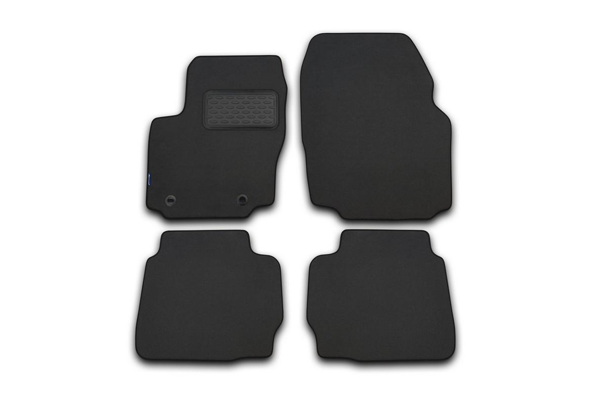 цена на Набор автомобильных ковриков Klever для Opel Insignia 2008-, седан/универсал/хэтчбек, в салон, цвет: черный, 4 шт