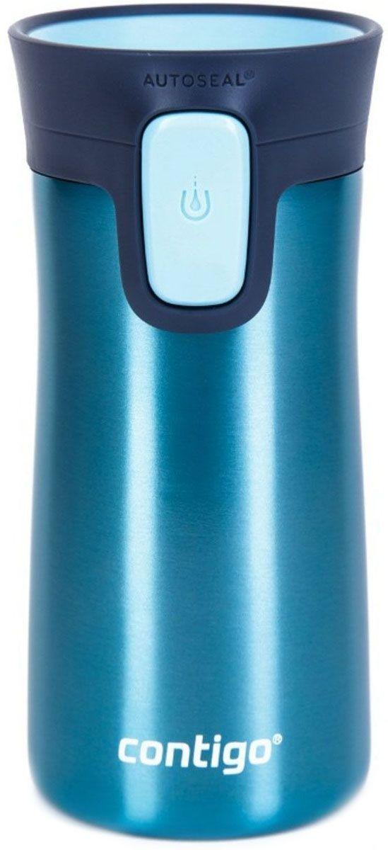 Термокружка Contigo Pinnacle, 300 мл, цвет: бирюзовый термокружка contigo huron цвет винный 470 мл