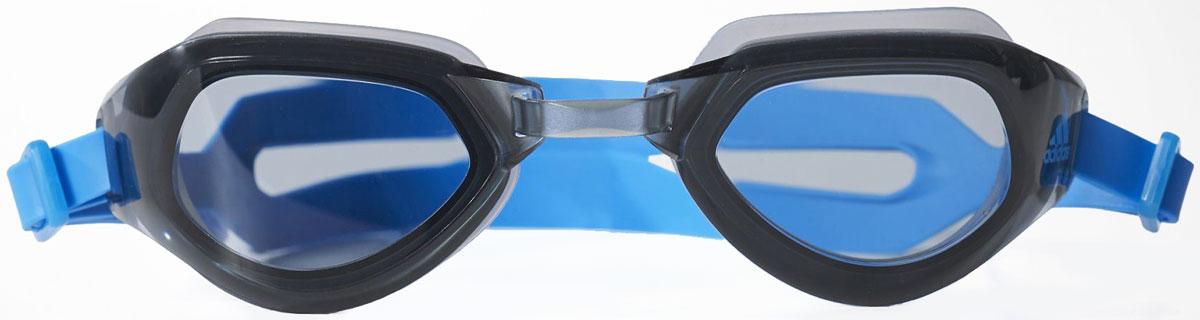 Очки для плавания adidas Persistar CMF, цвет: синий. BR1072 очки для плавания adidas persistar 180 mirrored цвет голубой размер m