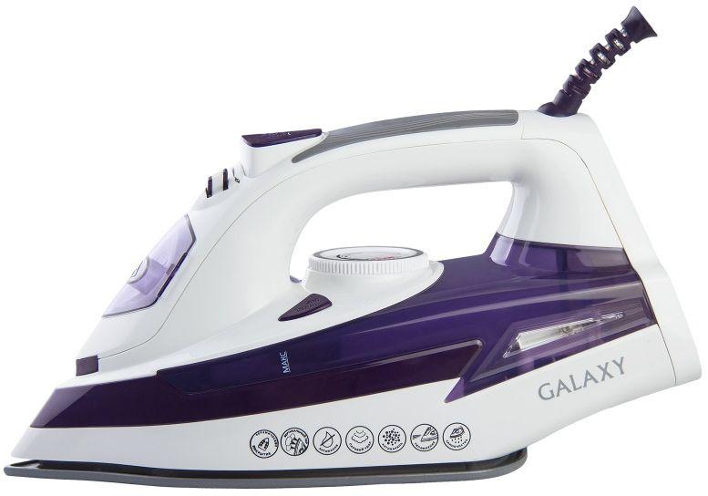 Утюг Galaxy GL 6106, White Purple delta dl 415 white purple утюг