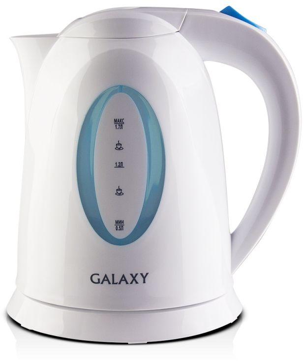 Электрический чайник Galaxy GL 0218, White
