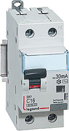 Дифференциальный автоматический выключатель Legrand DX3, 1P+N 16А (С) 10MA-AC выключатель автоматический hager 3 полюса 50 a