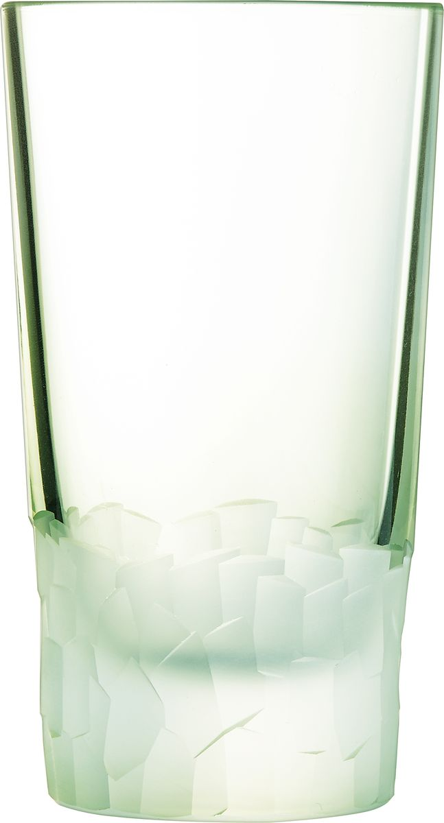 "Набор стаканов Cristal d'Arques ""Intuition"", цвет: зеленый, 330 мл, 6 шт. L8641"