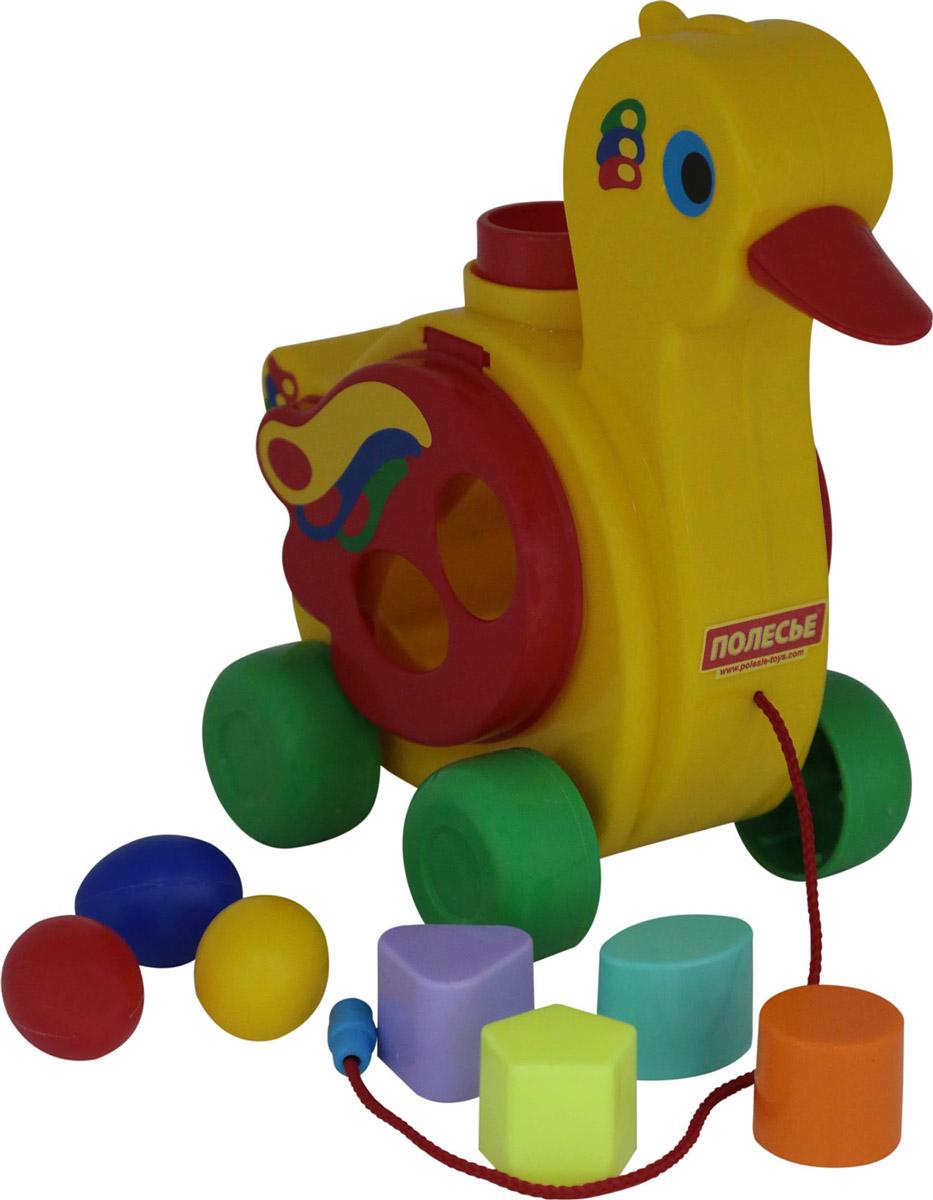 Фото - Полесье Сортер Уточка-несушка, цвет в ассортименте полесье набор игрушек для песочницы 468 цвет в ассортименте