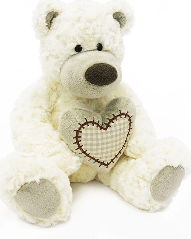 Maxitoys Luxury Мягкая игрушка Мишка Лавли цвет белый 19 см цены онлайн