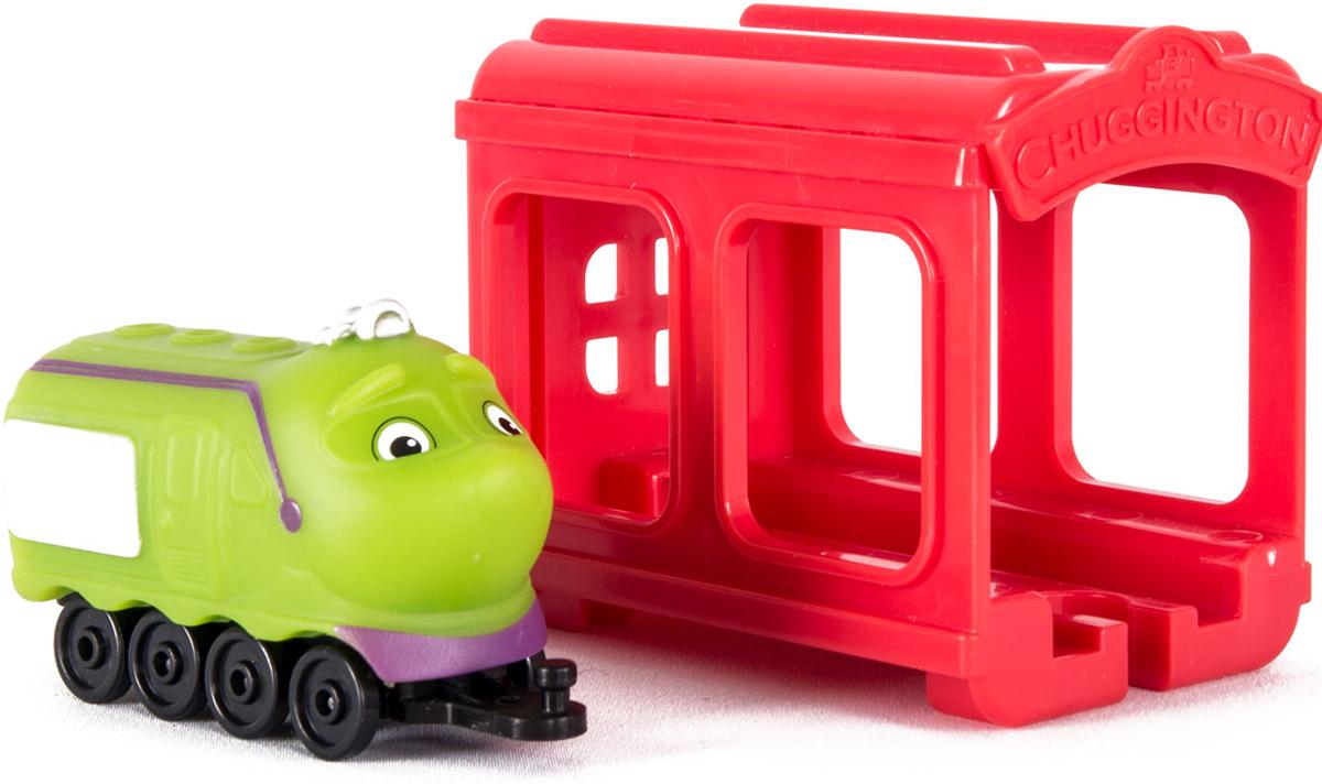 Chuggington Паровозик Коко с гаражом игровой набор chuggington паровозик коко с гаражом