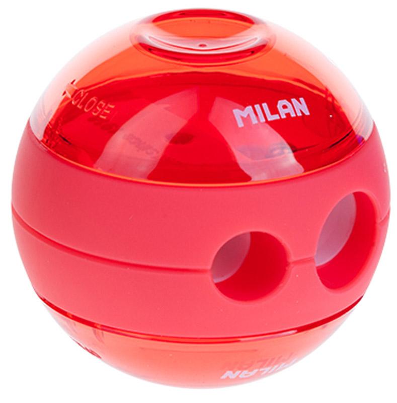 Milan Точилка Sphere с контейнером цвет коралловый milan точилка 20127240
