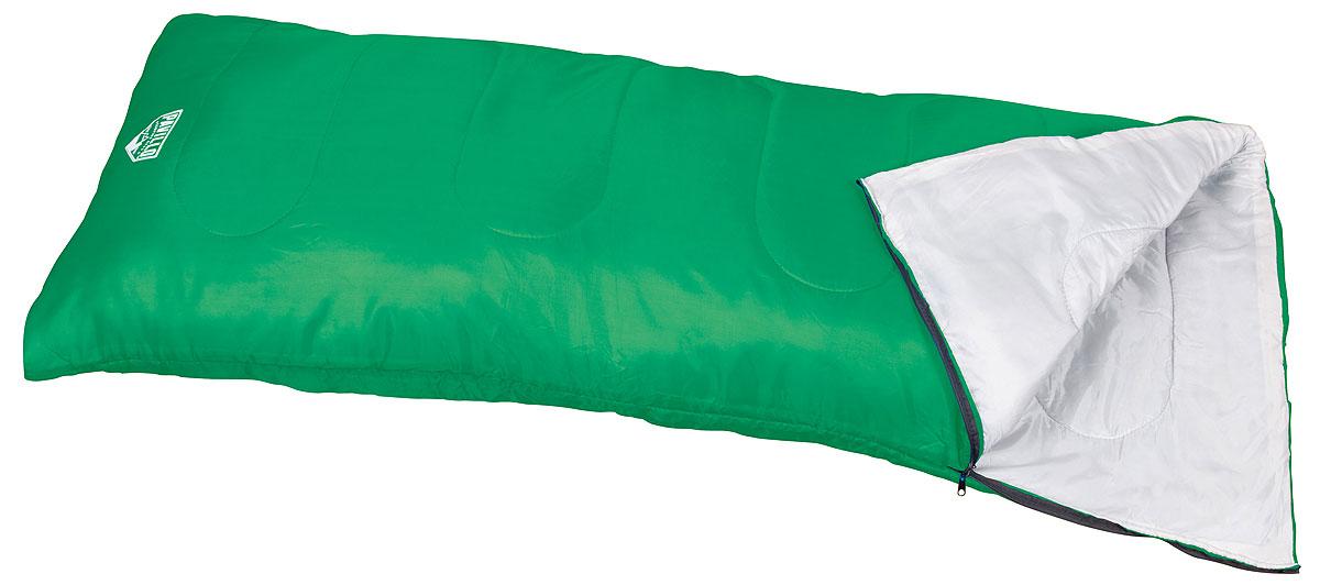 Bestway Спальный мешок Evade 200, цвет: зеленый