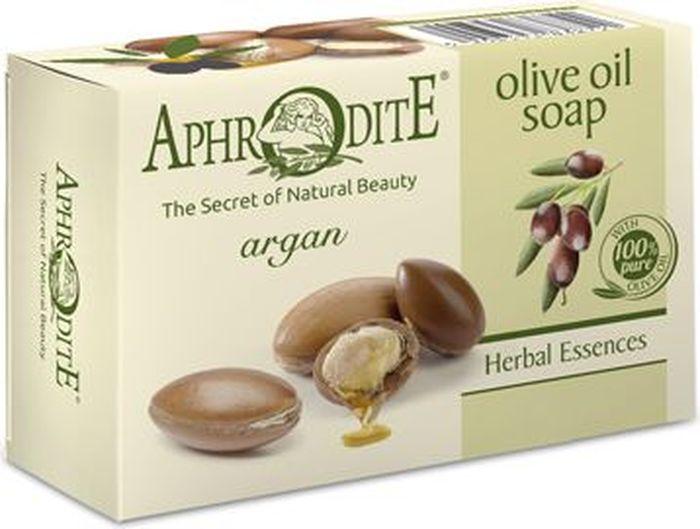 Aphrodite Мыло оливковое с арганой, 100 г цена и фото