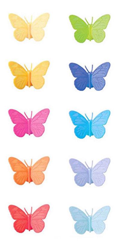 Маркеры для бокалов Balvi Drink Wings, 10 шт, разноцветный
