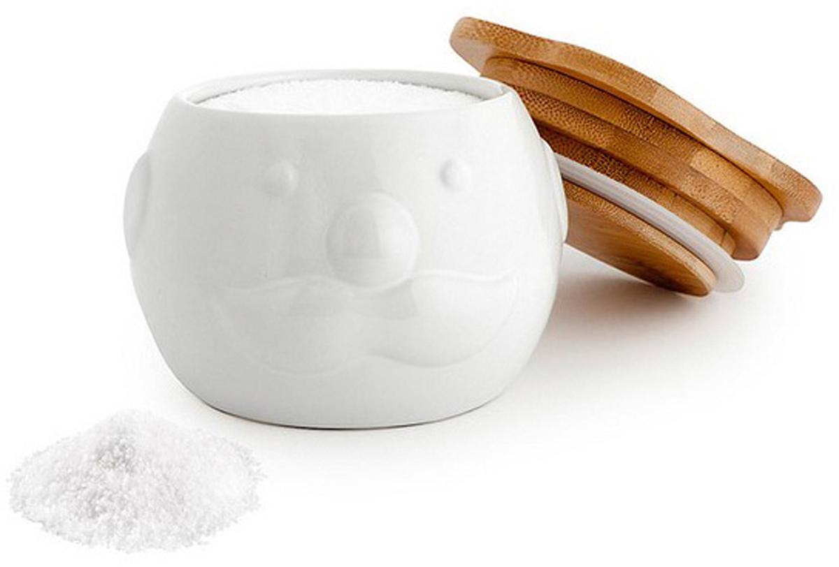 Солонка Balvi Mr. Chef, цвет: белый солонка balvi mr chef