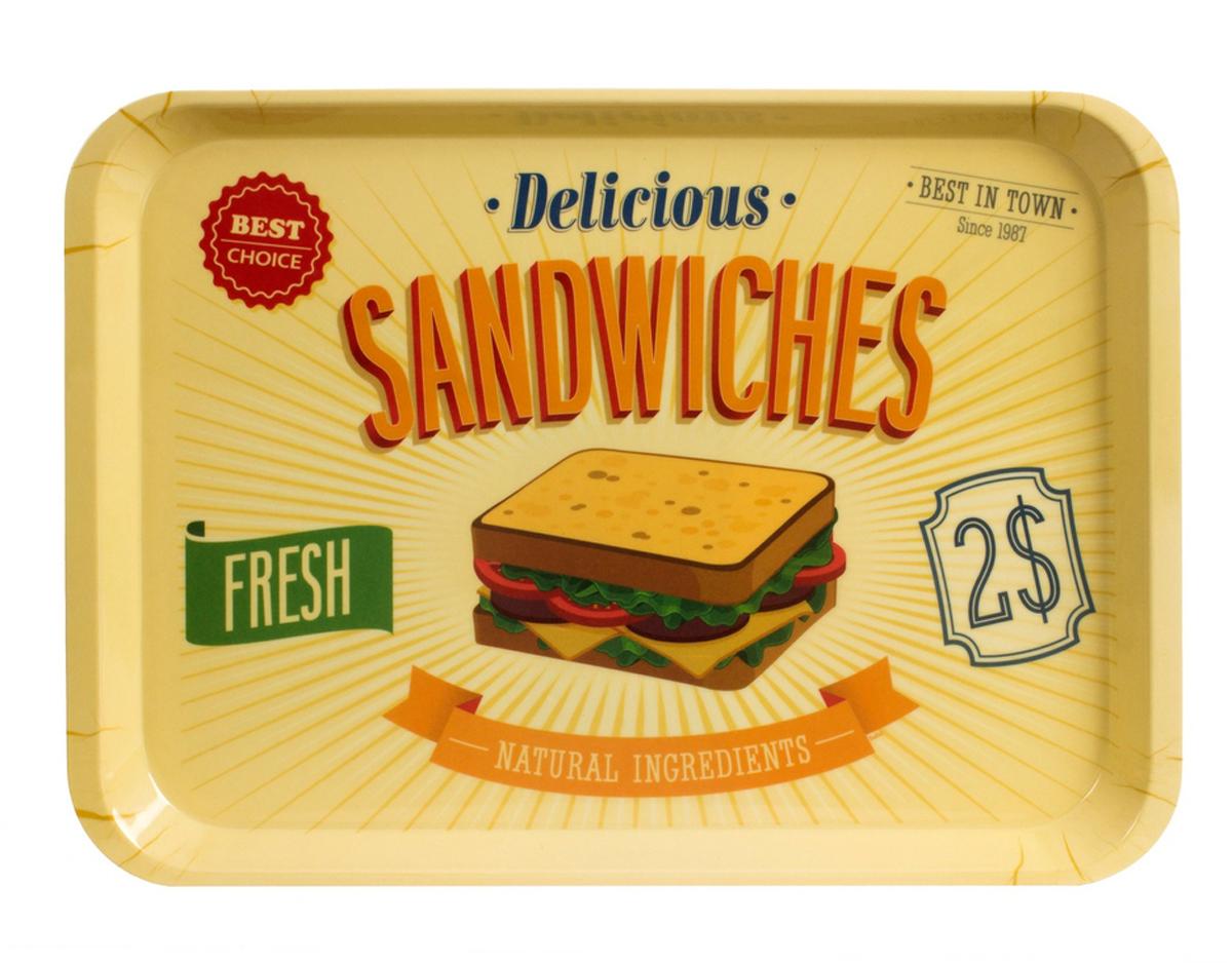 "Поднос Balvi ""Best Sandwiches"", цвет: бежевый"