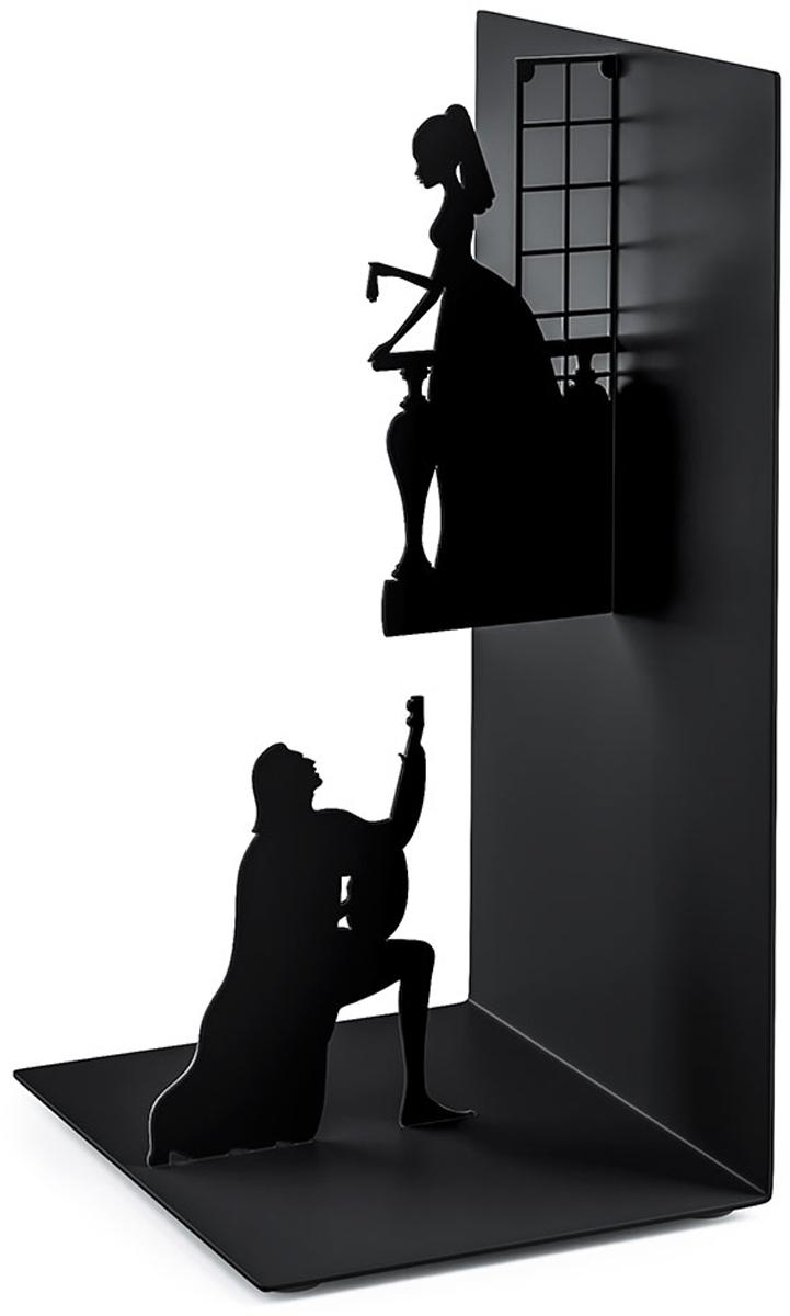 Держатель для книг Balvi Romeo&Juliet, цвет: черный держатель для книг balvi balvi mp002xu02gew