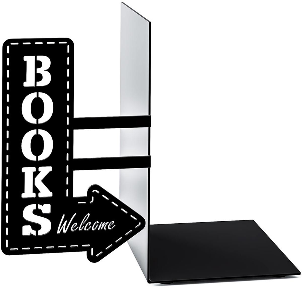 Держатель для книг Balvi BookShop, цвет: черный