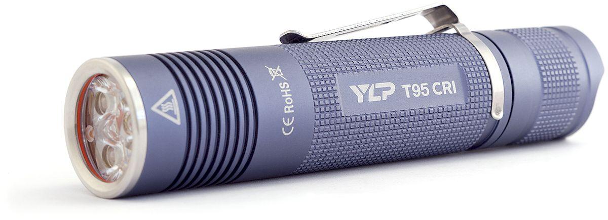 Фонарь ручной Яркий Луч T95 CRI Escort, цвет: серый