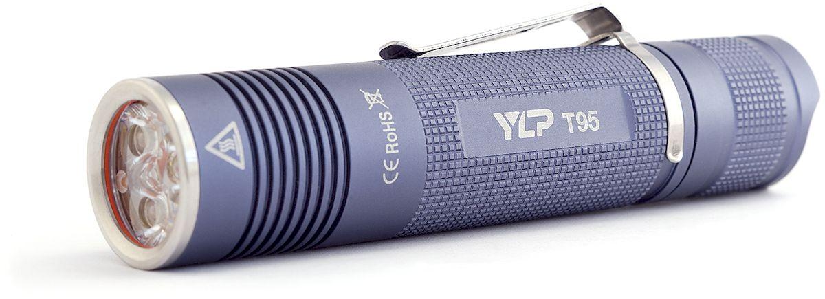 Фонарь ручной Яркий Луч YLP T95 Escort, цвет: серый