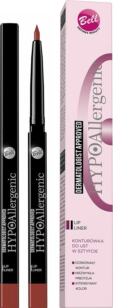 Bell Hypoallergenic Карандаш для губ контурный автоматический гипоаллергенный Lip Liner, Тон №02