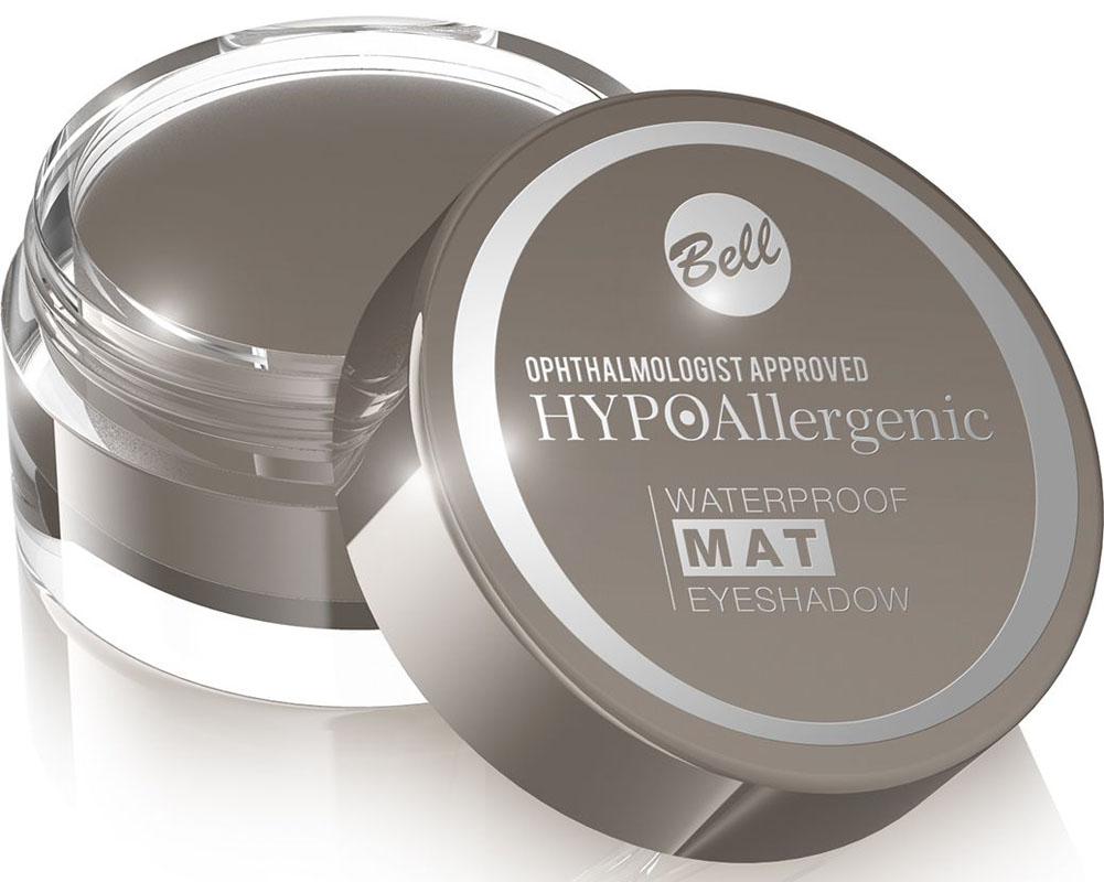 Bell Hypoallergenic Тени для век, водостойкие, матовые Waterproof Mat Eyeshadow, Тон №02E880