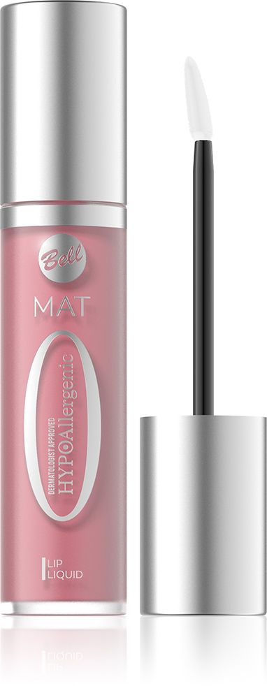 Bell Hypoallergenic Матовая жидкая помада Mat Lip Liquid, Тон №03, 20 мл