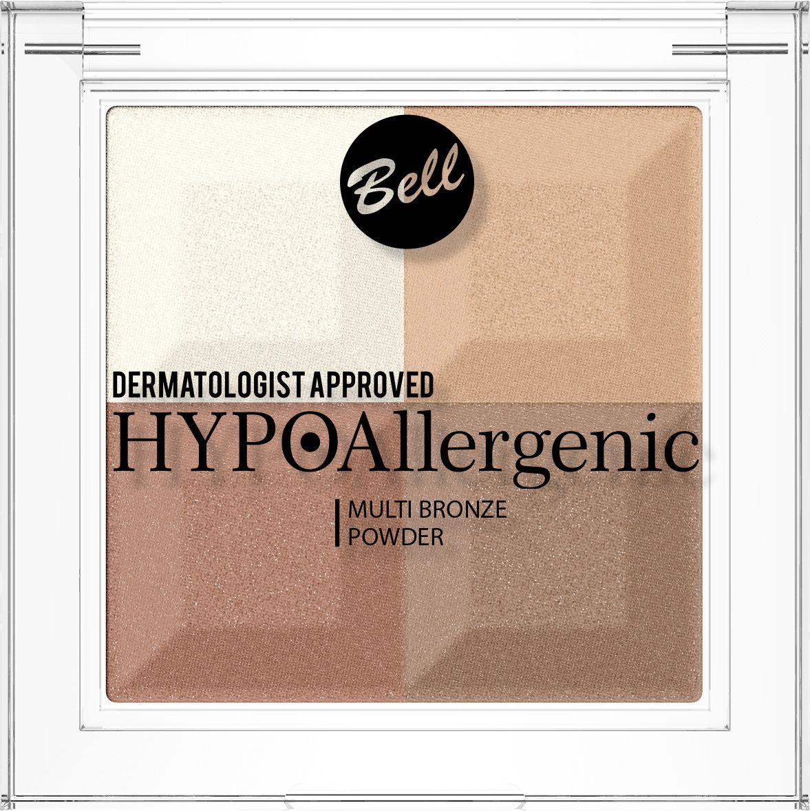 Bell Hypoallergenic Пудра с бронзирующим и осветляющим эффектом Multi Bronze Powder, Тон №01