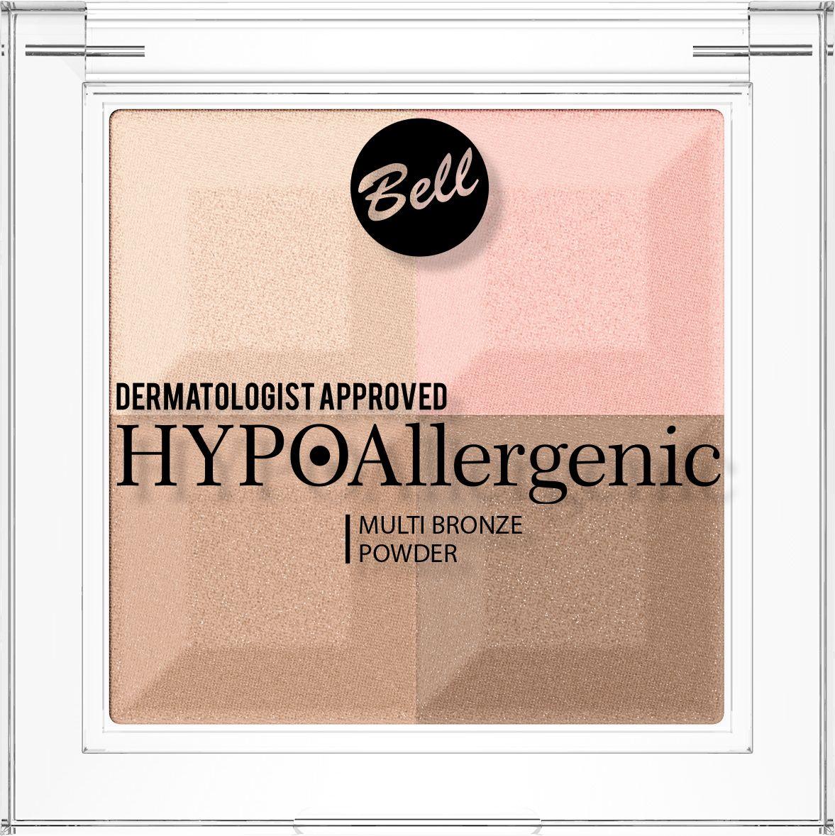 Bell Hypoallergenic Пудра с бронзирующим и осветляющим эффектом Multi Bronze Powder, Тон №02 пудра bell bell be091lwelfm8