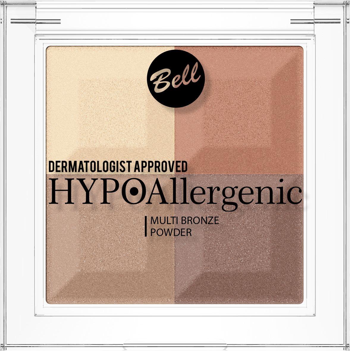 Фото - Bell Hypoallergenic Пудра с бронзирующим и осветляющим эффектом Multi Bronze Powder, Тон №03 пудра bell bell be091lwelfk8