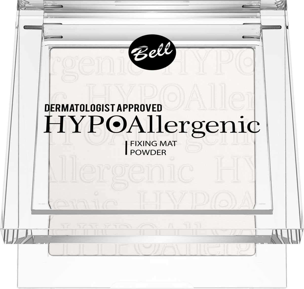 Bell Hypoallergenic Пудра, фиксирующая макияж, гипоаллергенная Fixing Mat Powder, Тон №01