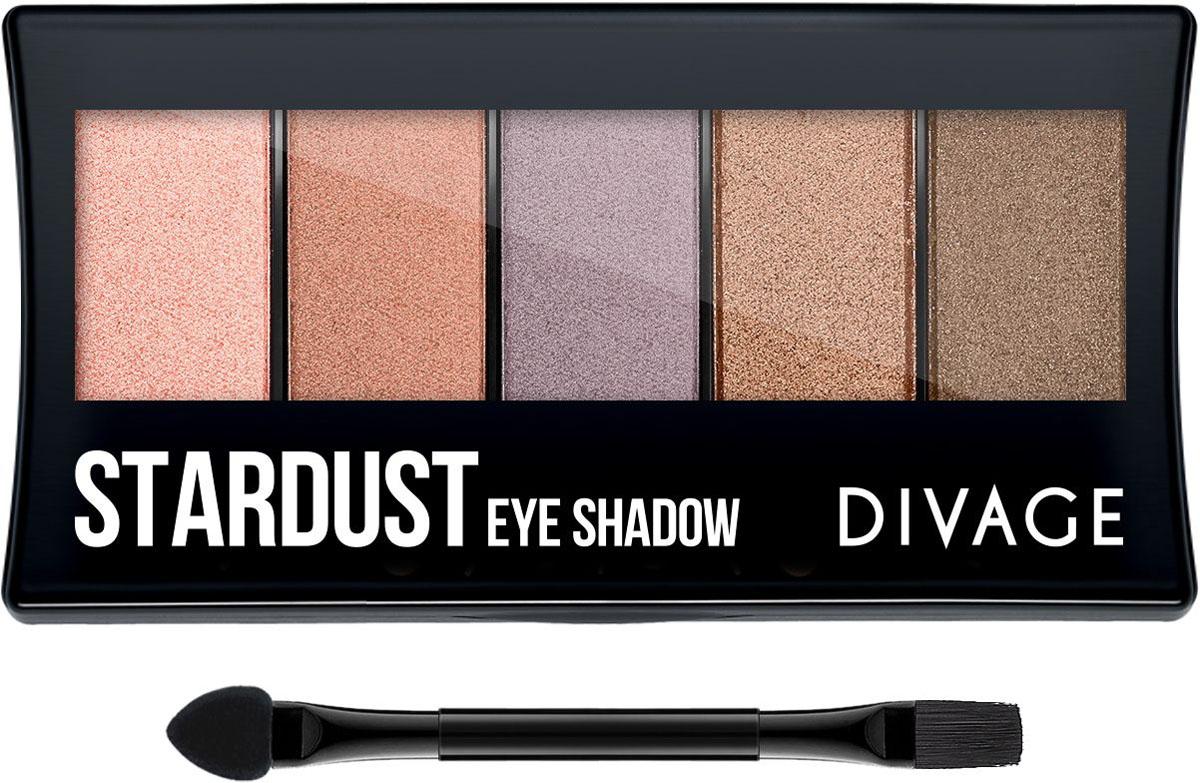 Divage Палетка теней для век Palettes Eye Shadow - Stardust divage палетка теней для век palettes eye shadow stardust