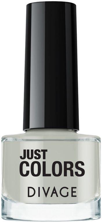 Divage Лак для ногтей Just Colors, Тон №02, 6 мл divage accessories баночка пластиковая 10 мл