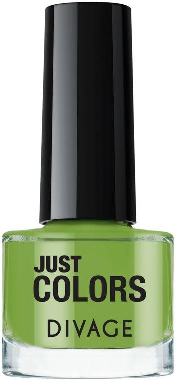 Divage Лак для ногтей Just Colors, Тон №14, 6 мл divage accessories баночка пластиковая 10 мл