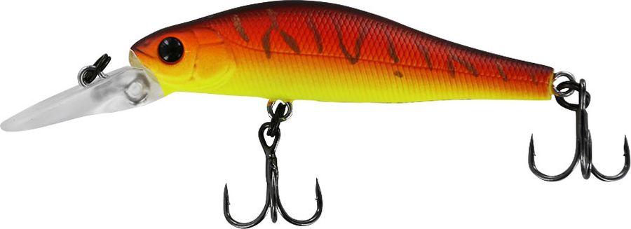 "Воблер Tsuribito ""Jerkbait SP-DR"", цвет: желтый, оранжевый (029), длина 50 мм, вес 3 г"