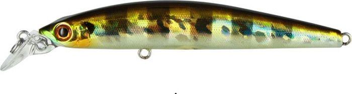 Воблер Tsuribito Minnow S, цвет: серебристый, золотой (007), длина 95 мм, вес 10,8 г