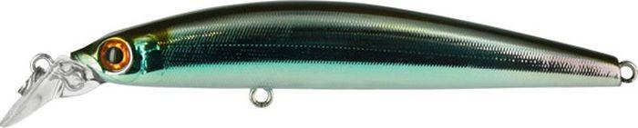 Воблер Tsuribito Minnow S, цвет: серебристый, золотой (035), длина 95 мм, вес 10,8 г