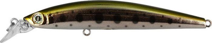 Воблер Tsuribito Minnow S, цвет: серебристый, золотой (053), длина 95 мм, вес 10,8 г