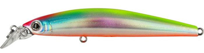 Воблер Tsuribito Minnow S, цвет: серебристый, оранжевый (057), длина 95 мм, вес 10,8 г