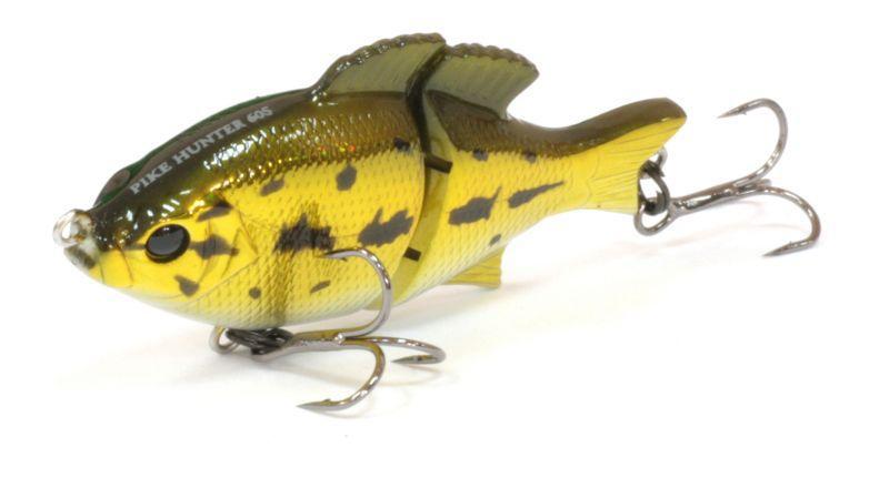 Воблер Tsuribito Pike Hunter S, цвет: золотой, белый (013), длина 95 мм, вес 22,5 г воблер tsuribito pike hunter s цвет бирюзовый серый 572 длина 95 мм вес 22 5 г