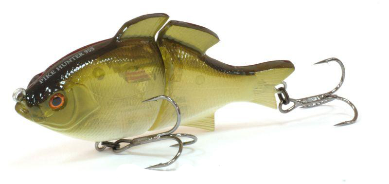 Воблер Tsuribito Pike Hunter S, цвет: салатовый (082), длина 95 мм, вес 22,5 г