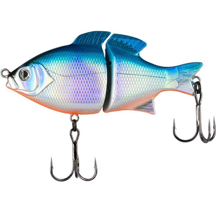 """Воблер Tsuribito """"Pike Hunter S"""", цвет: голубой (100), длина 95 мм, вес 22,5 г"""