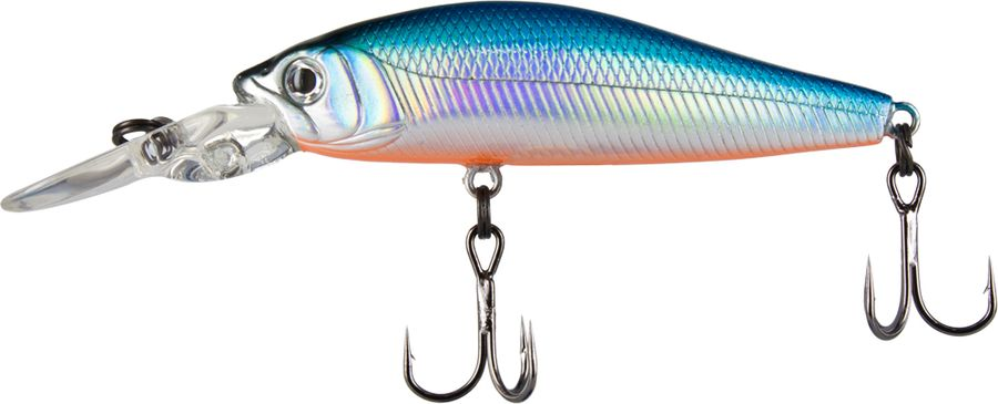 Воблер Tsuribito Deep Diver Minnow SP, цвет: голубой (100), длина 60 мм, вес 5,3 г