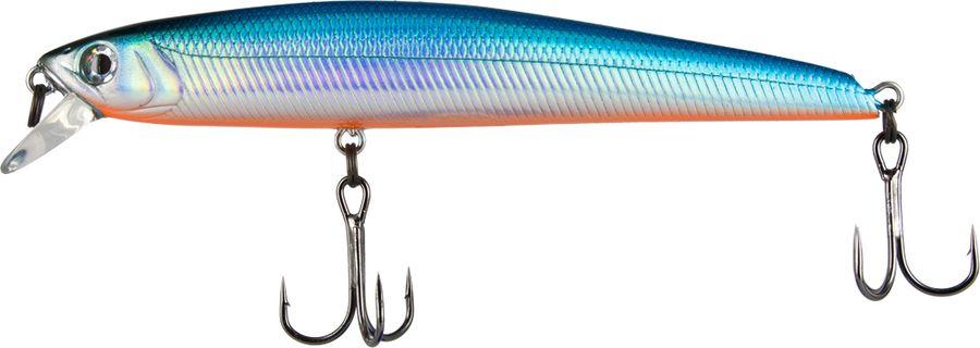 Воблер Tsuribito Smash Minnow F, цвет: голубой (100), длина 90 мм, вес 7 г