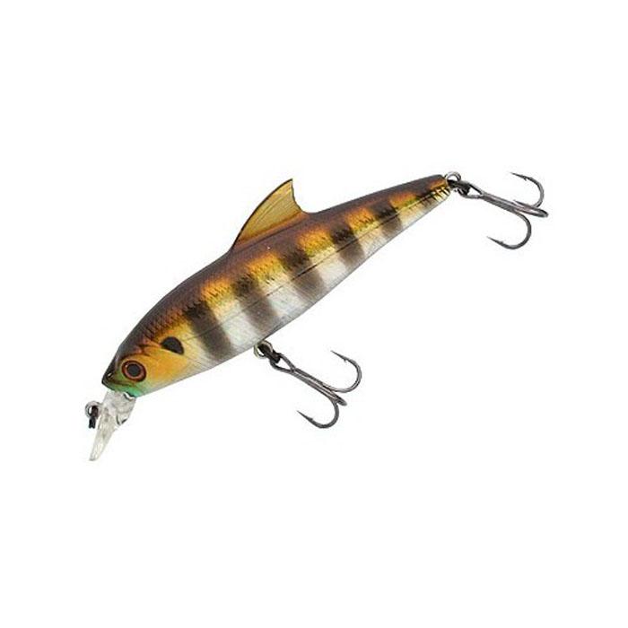 Воблер Tsuribito Baby Shark SP, цвет: серебистый, золотой (007), длина 70 мм, вес 6,3 г воблер tsuribito baby shark sp цвет серебристый золотой 035 длина 70 мм вес 6 3 г