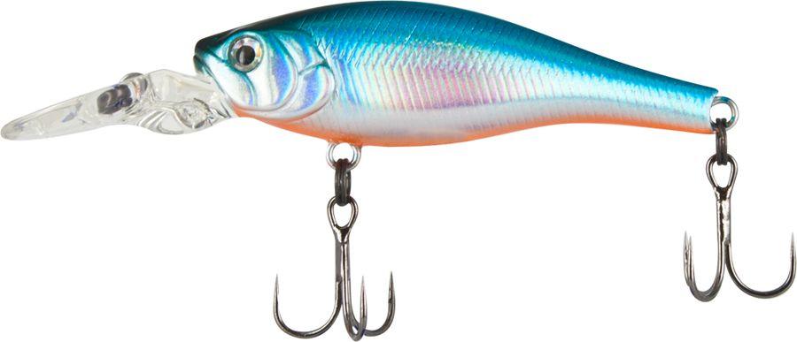 Воблер Tsuribito Deep Trap F-MR, цвет: голубой (100), длина 45 мм, вес 3,5 г